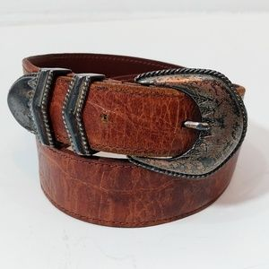 Banana Republic Brown Leather Belt Size 28